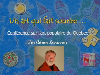Conférence: Un art qui fait sourire par Adrien Levasseur